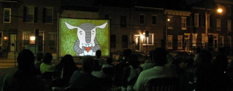 Street Movies! at Chinatown